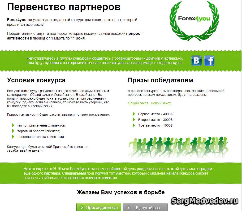 Конкурс forex