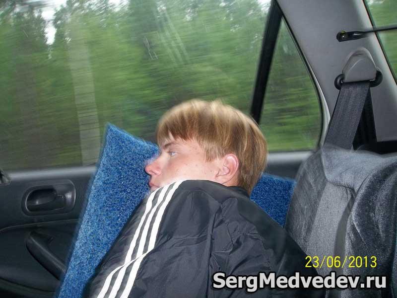 Саша по пути на Байкал