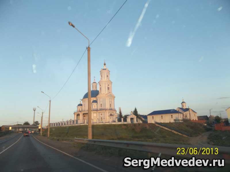 Церковь в поселке Тельма
