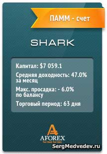 Управляющий ПАММ - SHARK