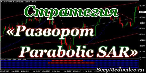 Универсальная торговая стратегия Разворот Parabolic SAR