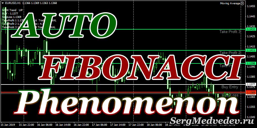 Индикатор Auto Fibonacci Phenomenon