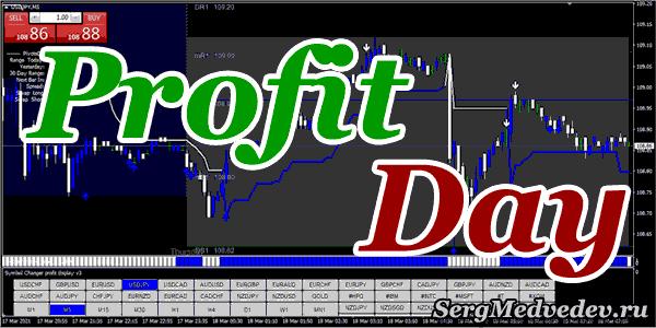 Трендовая торговая стратегия для дейтрейдинга Profit Day Trading